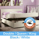 California Gas-Lift Double Bed Frame (King/Queen/Double)
