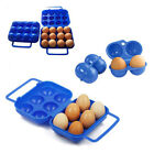 Folding Eggs Carry Case Box (For 2/6/12 eggs) Picnic Container Durable MOCA