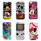 Disney Cartoon Mickey Minnie Game Boy Soft Rubber Case Cover For iPhone 6 6 Plus