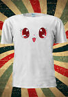 Cute Kawaii Eyes Funny Kitty Kitten T-shirt Vest Top Men Women Unisex 1911