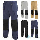 Nevis Mens Cargo Work Pants Multi Pocket Combat Trousers Workwear 32 34 36 38