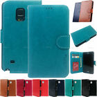 New Leather Wallet Flip Case id Card Holder Purse For Samsung Galaxy Phones