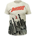 Daredevil The Man Without Fear Gun City Marvel Comic All Over Front T-Shirt top