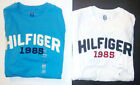 Tommy Hilfiger Mens TShirts White Blue 1985 Sizes S, Lg and XLg NWT
