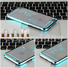 """New Chrome Clear Hard Back Case Cover For Apple iPhone 6 (4.7"""") Apple iPhone 5s"""