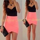 Women Summer Sleeveless Evening Party Cocktail Casual Short Mini Dress hot