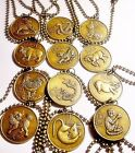 Pick One! ***CHINESE ZODIAC*** Astrology*Symbol*Year of The*Animal*Necklace
