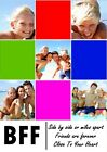 Personalised Your Photos, Best Friends Forever, BFF Collage Print Various Sizes