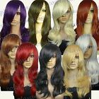 Heat Resistant Wavy Layered ALL COLOR Curly Long Cosplay Wigs