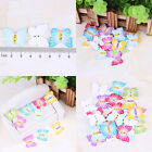 New Fashion Bulk Craft butterfly Sewing Wooden Buttons Scrapbooking 2 Holes
