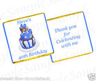 PERSONALISED CHOCOLATES BIRTHDAY  - BIRTHDAY CAKE DESIGN