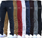 Kyпить Mens Designer Trousers Chinos Stretch Skinny Slim Fit Jeans All Waist Sizes Holt на еВаy.соm