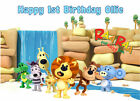 EDIBLE ICING RAA RAA THE NOISY LION  BIRTHDAY CAKE TOPPER