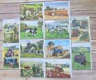 Farming, Vintage Tractors & Animals Greetings Cards