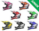 Wulfsport JUNIOR ADVANCE Motocross MX Helmet Children Kids Quad ATV EC 22 05 ACU