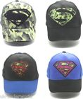 Boys Superman Dc Comics Baseball Hat Childrens Kids Sun Peak Cap summer 52 54 cm