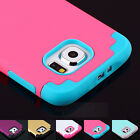 Hybrid Shockproof Heavy Duty Rubber Hard Case Cover For SAMSUNG GALAXY S5 S6