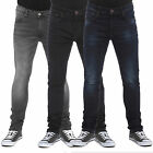 MENS SKINNY STRETCH JEANS IN BLACK, RINSE, DARK & MID WASH (ATTIC) CLEARANCE!!!