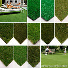 CHEAP Artificial Grass, Quality AstroTurf, Natural Realistic Green Lawn Garden