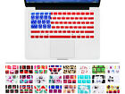 USA America Flag Pattern Silicone Keyboard Cover Skin For MacBook Pro Air 13 15