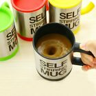 Lazy Auto Self Stir Stirring Mixing Tea Coffee Cup Mug Work Office Gift UK Store