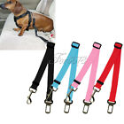 Dog Pet Car Safety Seat Belt Harness Restraint Lead Adjustable Travel Clip
