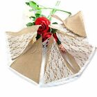2.8M 11flags DIY Banner Event Party Supplies Rustic Hessian Garland Home Decor