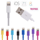 Hi-q 8 Pin Usb Cable Data Sync Charger For Iphone 6 5 5s 5c Ipod Nano 7th New