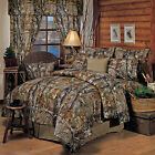 Realtree All Purpose Camo Comforter Set  Camouflage Bedding FREE VALANCE