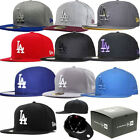 NEW ERA 59FIFTY FITTED CAP LOS ANGELES DODGERS MLB BASIC 5950 HAT (ALL COLOURS)