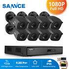 SANNCE 4in1 8CH 1080N HD DVR 1500TVL IR In Outdoor Cameras CCTV Security System