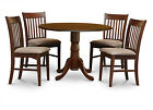 Dublin 5 Pieces small kitchen table set-round table and dinette chairs