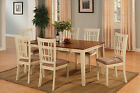Nicoli 5 Pieces dining room set for 4-Table with Leaf And 4 dining chairs