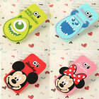 Cartoon Mike minnie mickey Rubber soft Case cover for Samsung Galaxy S6 S7 note7
