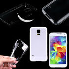 New Ultra Thin Clear Transparent Crystal Hard Back Case Cover For Samsung iphone