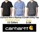 Carhartt Men's Ripstop Utility Scrub Top C15108 All Sizes & Colors Free Shipping