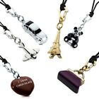 HAPPY CHARMS lady pendant necklace MORELLATO jewels strap steel outlet classic