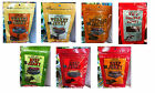 TRADER JOES ALL NATURAL JERKY - 7 VARIOUS FLAVORS - FREE SHIPPING