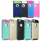 Dual Tone New TPU Hybrid Case Cover Bumper For Apple iPhone 5 5S