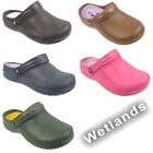 Womens New Garden Beach Summer Hospital Nurse Clogs Ladies Sandals Shoes Size Uk