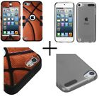 iPod touch 5th 6th generation Cover Sports Collection Tuff Hybrid Protector case