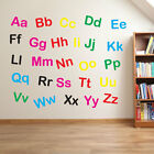 Nursery Alphabet Letters Lower & Upper Case Writing Wall Stickers Decal Kid 210