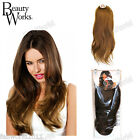 "Beauty Works 22"" Double Volume Remy  Instant Weave Half Head Wig"
