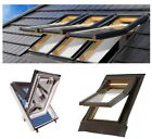PVC Dachfenster SKYLIGHT 94x140 94x118  78x118  78x140  66x118  55x78  + ROLLO !