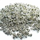 Wholesale Bulk Spacer Charm Beads fit Ladies Womens Girls Silver Charm Bracelets