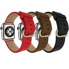 Genuine HOCO Original Leather Buckle Watch Band Strap for Apple iWatch 38mm 42mm