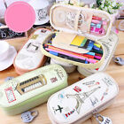 Coded Lock Student Pencil Box Student Pen Bag Case Cosmetic Travel Makeup Bags