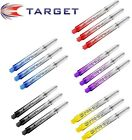 Target Phil Taylor Pro Vision Dart Shafts Stems x 3 ALL COLOURS AND SIZES