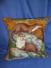 "Otters - Right 16"" Cushion Cover & Inner"