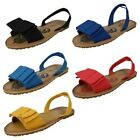 Ladies Spot On Sandals Style - F0688